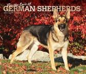 German Shepherds, for the Love of 2020 Deluxe Foil