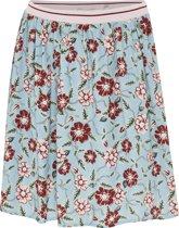 Mexx Meisjes Rok-Blauw-flowerprint-maat 104