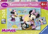 Ravensburger Disney Minnie Mouse Twee puzzels van 24 stukjes