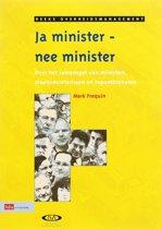 Overheidsmanagement - Ja minister, nee minister