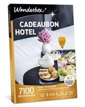 Wonderbox Cadeaubon - Hotel