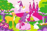 Associated Weavers Vloerkleed  Girls Fairytale - 80x120cm
