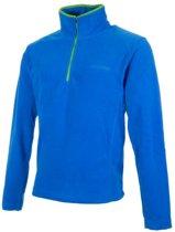 Campri Micro Fleece Pully met 1/4 rits - Sporttrui - Jongens - Maat 140 - Blauw