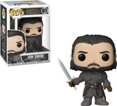 Funko Pop! Game Of Thrones Jon Snow Beyond The Wall Vinyl Figure - Verzamelfiguur