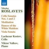 Roslavets: Works For Cello