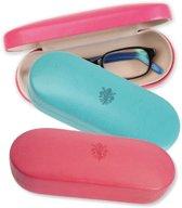 Brillendoos - Turkoois | Glasses - Sunglasses Case Rigid Big - Turquoise | Lily Collection