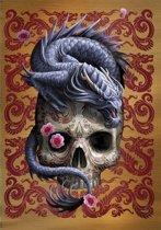 Anne Stokes Wenskaart Oriental Dragon
