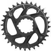 SRAM X-Sync Eagle CF Kettingblad 6 mm, 12-speed, black Uitvoering 32T