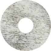 Zelfkl. rozet (17 mm) eik whitewash (10 st.)