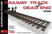 Miniart - Railway Track & Dead End European Gauge (Min35568)