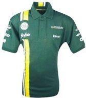 Caterham F1 Dames Raceshirt Replica Maat Xs