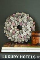 Rivièra Maison Romantic Winter Wreath Krans 24 cm Crème