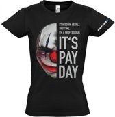 Payday 2 Girl-Shirt Chains Mask (Maat M)