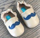 Lief Lifestyle BabySlofjes Beige/Blauw - Maat 18