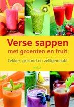 Verse sappen met groenten en fruit