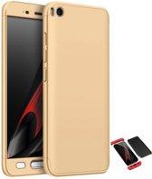 Teleplus Xiaomi Mi 5 S 360 Full Protected Cover Gold