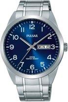 Pulsar PJ6061X1 horloge heren - zilver - edelstaal