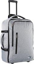 CABINMAX MALAGA TROLLEY LUGGAGE - 55x40x20cm - handbagage - perfect for Travel Overnight Weekend (MALAGA TR)