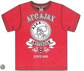 Ajax T-shirt - Maat 176 - Rood
