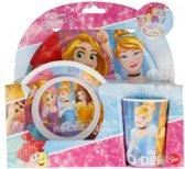 Disney Princess / Prinsessen melamine ontbijtset