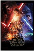 140 x 100 cm Star Wars The Force Awakens orginele Film XXL Poster