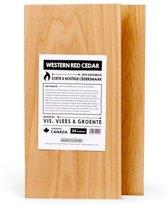 Smokin' Flavours cederhouten planken 2 stuks