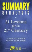 Boekomslag van 'Summary & Analysis of 21 Lessons for the 21st Century'