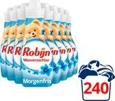 Robijn Morgenfris Wasverzachter - 240 Wasbeurten - 8 x 750 ml