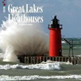 Lighthouses, Great Lakes 2018 Wall Calendar