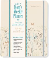 Butterflies Mom's Weekly Planner 2017 Family Calendar