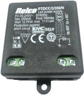 Relco LED Driver 230-12Vdc 350mA 3W 42x40x21mm