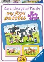 Ravensburger Goede vrienden My First Puzzels 3x6 stukjes
