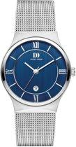 Danish Design IV68Q1240 horloge dames - zilver - edelstaal