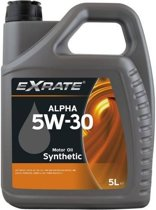 Exrate Motorolie 5W30 Alpha Synthetisch - 5 Liter