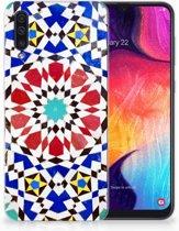TPU Siliconen Backcase Samsung Galaxy A50 Design Mozaïek
