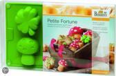 Birkmann Mini Cakesvorm Petit Fortune middel - Siliconen - 7 cm - 6 Vaks
