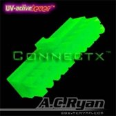 AC Ryan Connectx™ ATX20pin Female - UVGreen 100x Groen