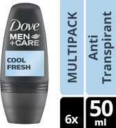 Dove Men+Care Cool Fresh Deodorant - 6 x 50 ml - Voordeelverpakking