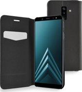 Azuri booklet ultra dun met staanfunctie - Samsung A6 Plus (2018) - zwart