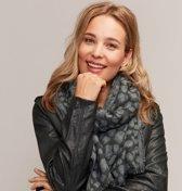 Dames sjaal panterprint - Warme wintersjaal - Sjaal met panterprint - Stylefever