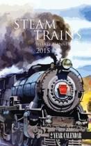Steam Trains Weekly Planner 2015