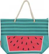 Sundaze Strandtas - Print - Watermeloen