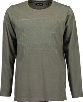 Blue Seven Jongens T-Shirt - Groen - Maat 176