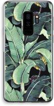 Samsung Galaxy S9 Plus Transparant Hoesje (Soft) - Bananenbladeren