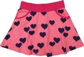 Happy Nr. 1-meisjes-rok-hartjes-kleur: roze, blauw-maat 86-92
