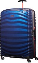 Samsonite Reiskoffer - Lite-Shock Sport Spinner 81/30 (Groot) Nautical Blue/Red