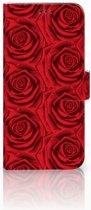 Samsung Galaxy S9 Plus Uniek Boekhoesje Red Roses