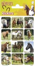 Stickers Paarden 3 vellen