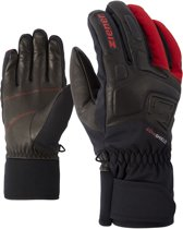 Ziener Glyxus AS Skihandschoenen Heren  Wintersporthandschoenen - Mannen - zwart/rood