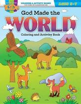 God Made the World Coloring & Activity Book